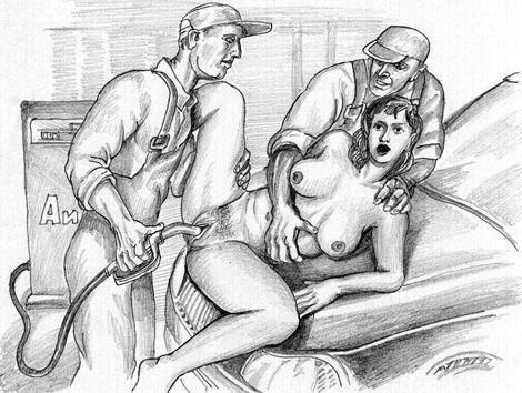 Рисованая порногрфия