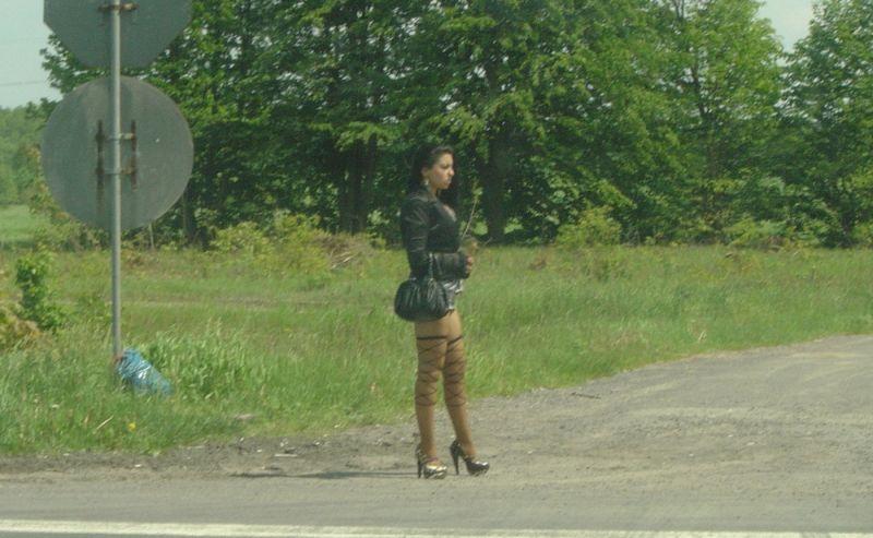 проституток трасса