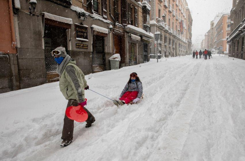 Sniegas Ispanijoje 2021 4 nuotrauka