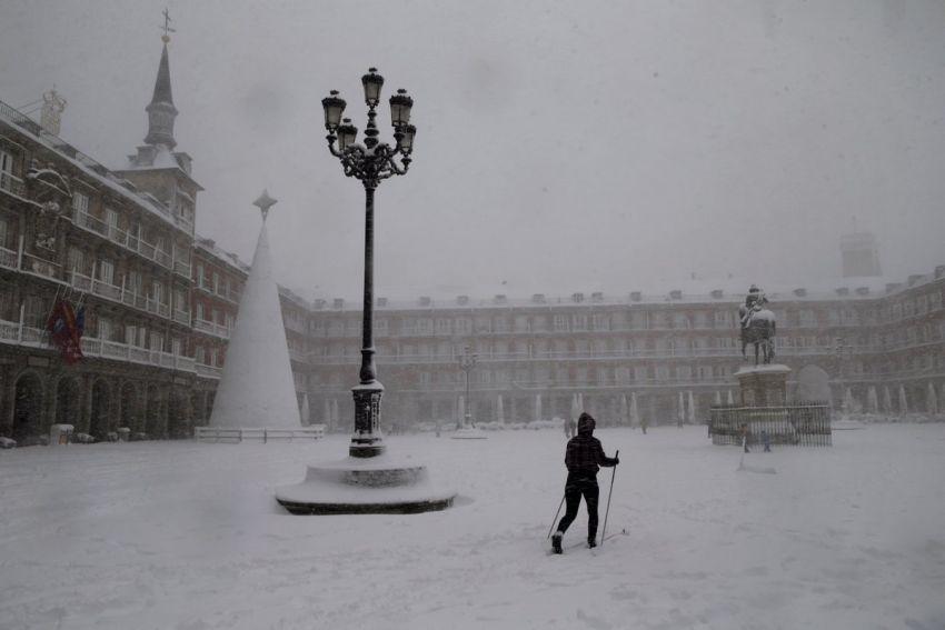 Sniegas Ispanijoje 2021 6 nuotrauka