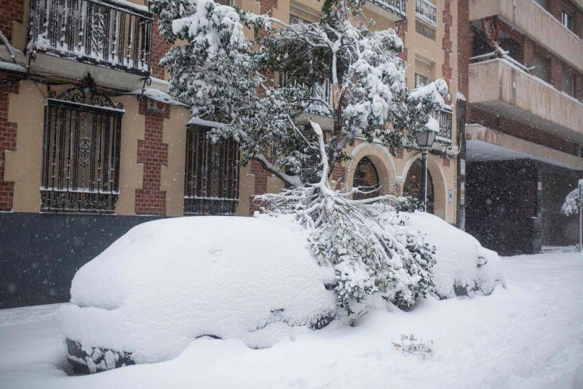 Sniegas Ispanijoje 2021 8 nuotrauka