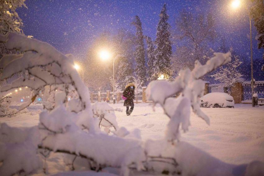 Sniegas Ispanijoje 2021 9 nuotrauka