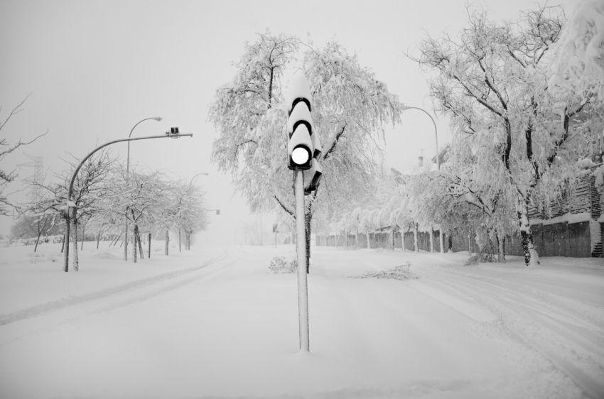 Sniegas Ispanijoje 2021 11 nuotrauka